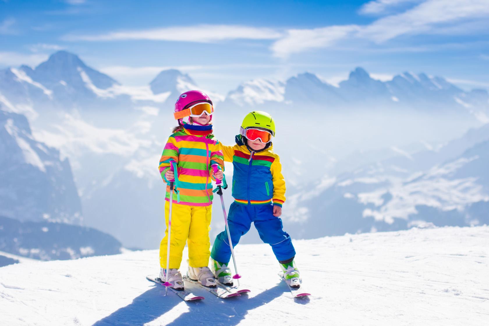 fotka Skupinová výuka<br> lyžování a snowboardingu